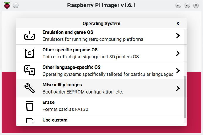 Misc utility images